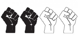 Black and White Fists of Revolution -1
