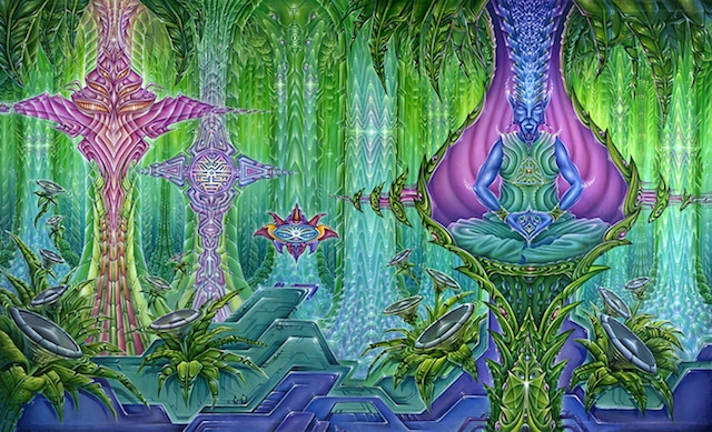 Do Entities From Another Universe Inhabit the Brains of DMT