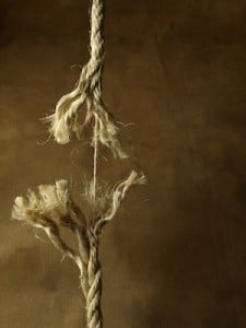 Frayed Rope Unravelling