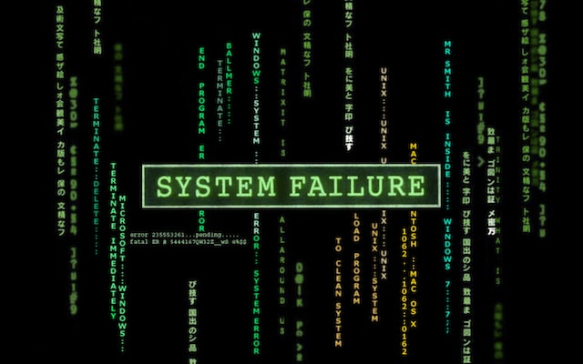 Matrix Sytem Failure