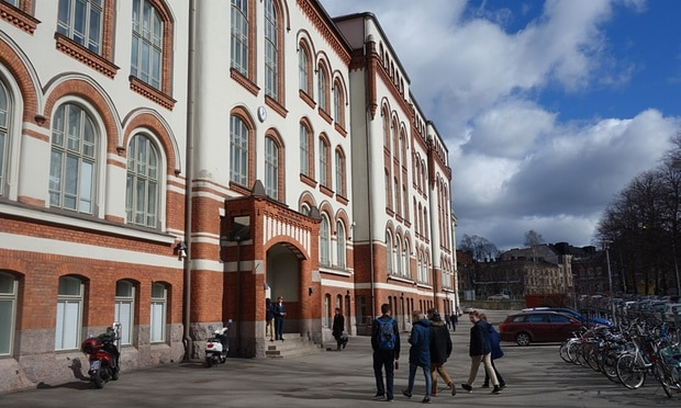 The Normal Lyceum in Helsinki. Photograph: David Crouch for the Guardian