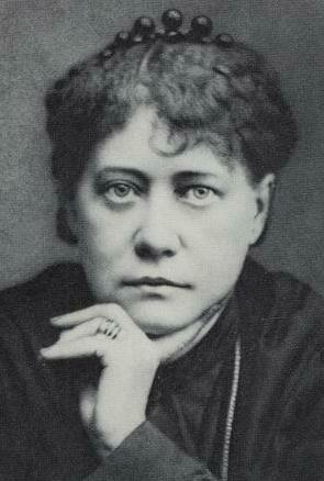 Helena Blavatsky, co-founder of the Theosophical Society, an occult movement formed in the late 1800's
