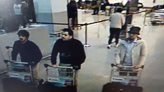 The alleged bombers from Brussels.