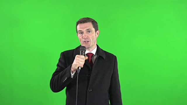 Reporter Green Screen
