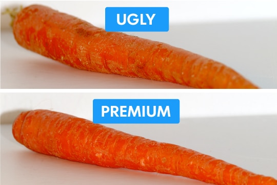 Cosmetic Carrots