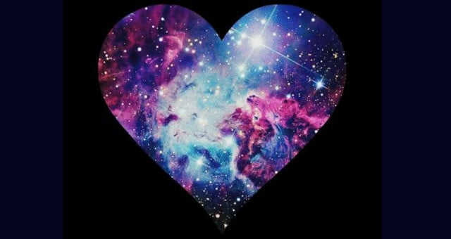 Cosmic Galaxy Heart