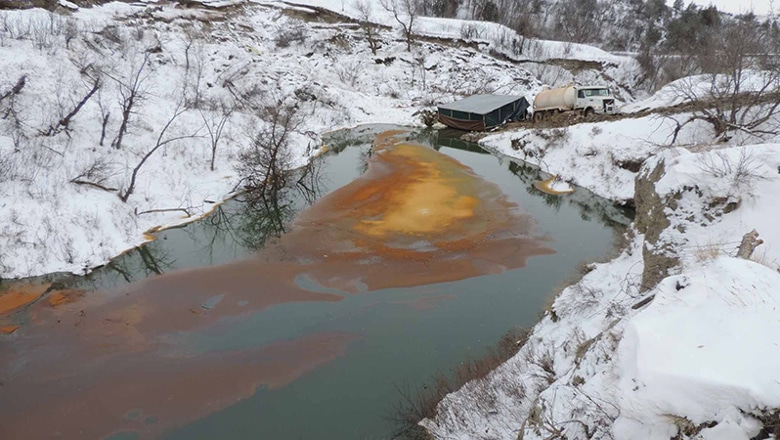 Oil spills in North Dakota