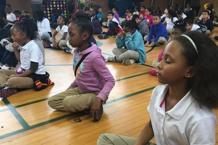 meditation instead of detention