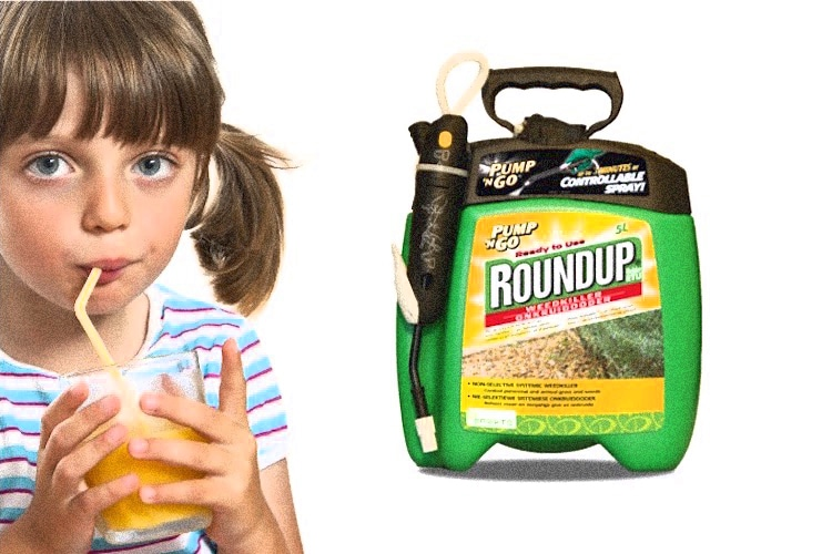 Monsantos RoundUp found in foods