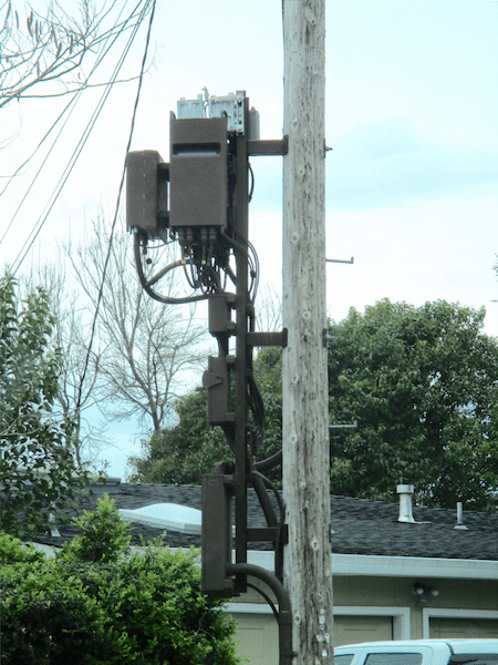5G Mini Cell Towers - 'Junk Yards On A Pole' - Will Affect