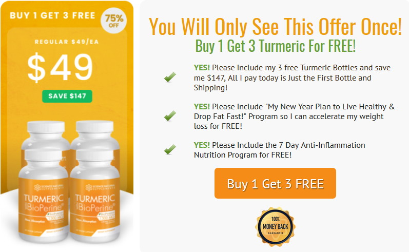 turmeric offer
