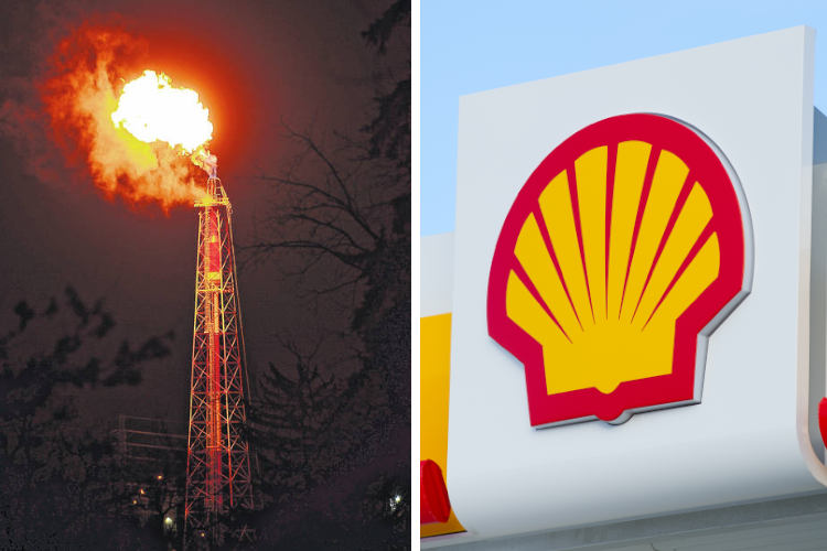 Shell Oil Corporation Burning Gas For Months Because They Can't Sell It
