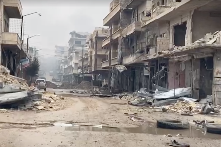 WATCH: Recent Ground Footage from Syria Shows the Total Devastation of Permanent War